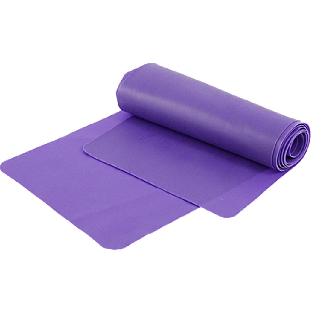 Lady 1.5M Stretchy Body Shape Bandage Slimming Belt Purple