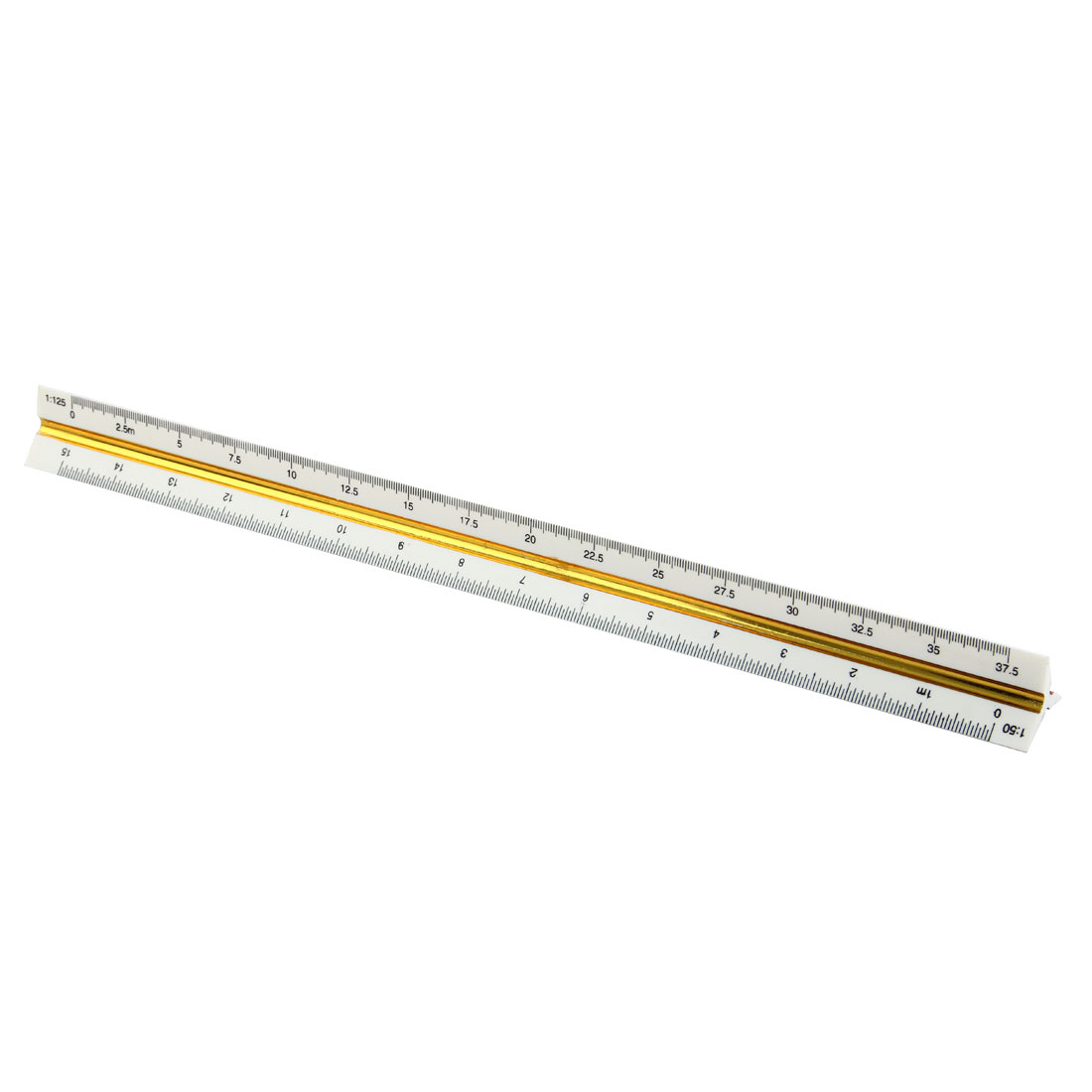 1:20 1:25 1:50 1:75 1:100 1:125 Plastic Triangular Scale Ruler