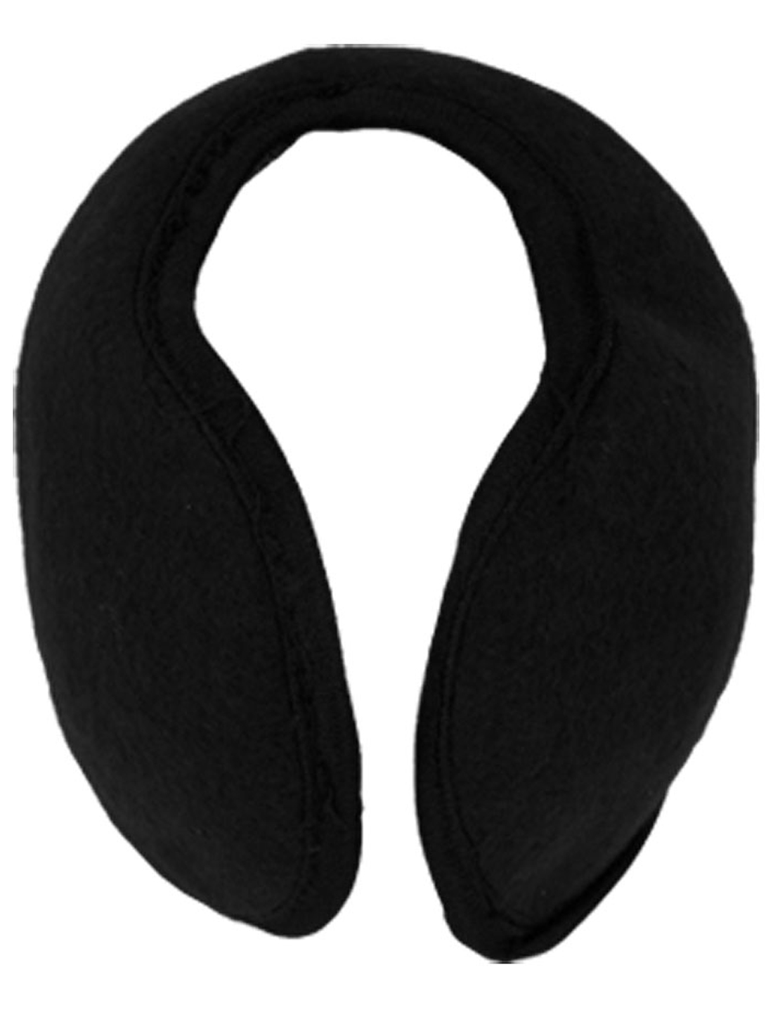 Black Behind Head Fleece Sponge Ear Band Warmers Earmuff