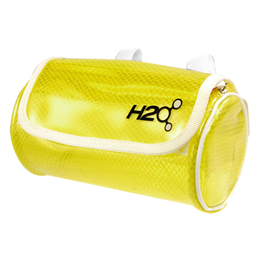 Soft Plastic Clear Yellow Front Handlebar Bag for Bicycle