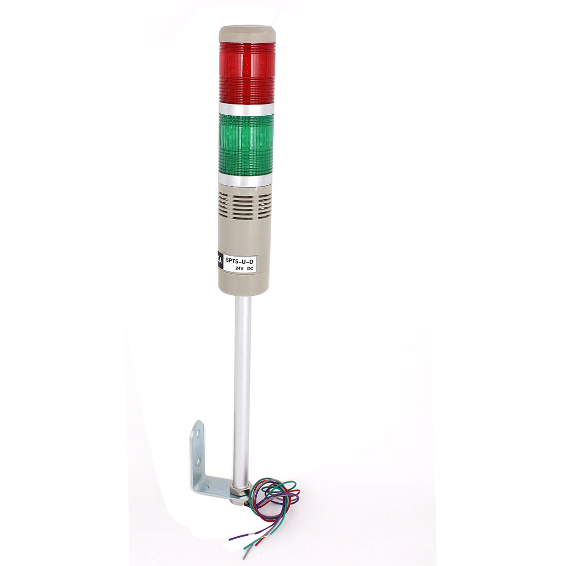 Red Green LED Industrial Tower Signal Light Track Stack Alarm Lamp