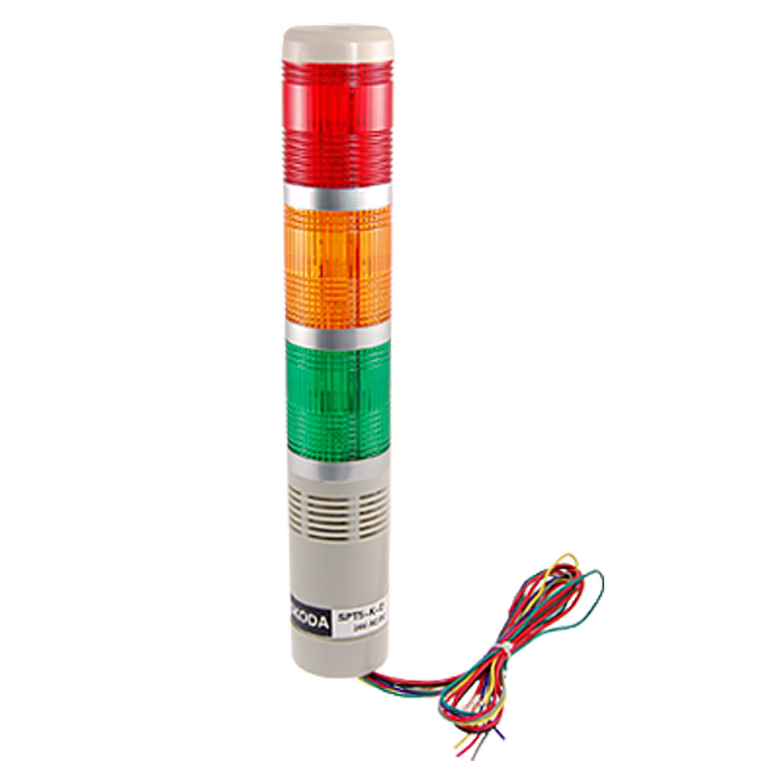 Industrial Signal Tower Light Red Green Yellow LED Alarm Lamp 24V W Install Part