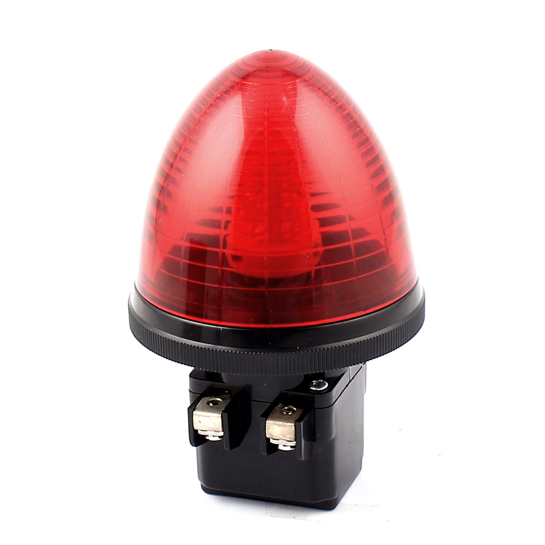 DC 24V Red LED Light Screw Clamp Terminals Industrial Alarm Lamp