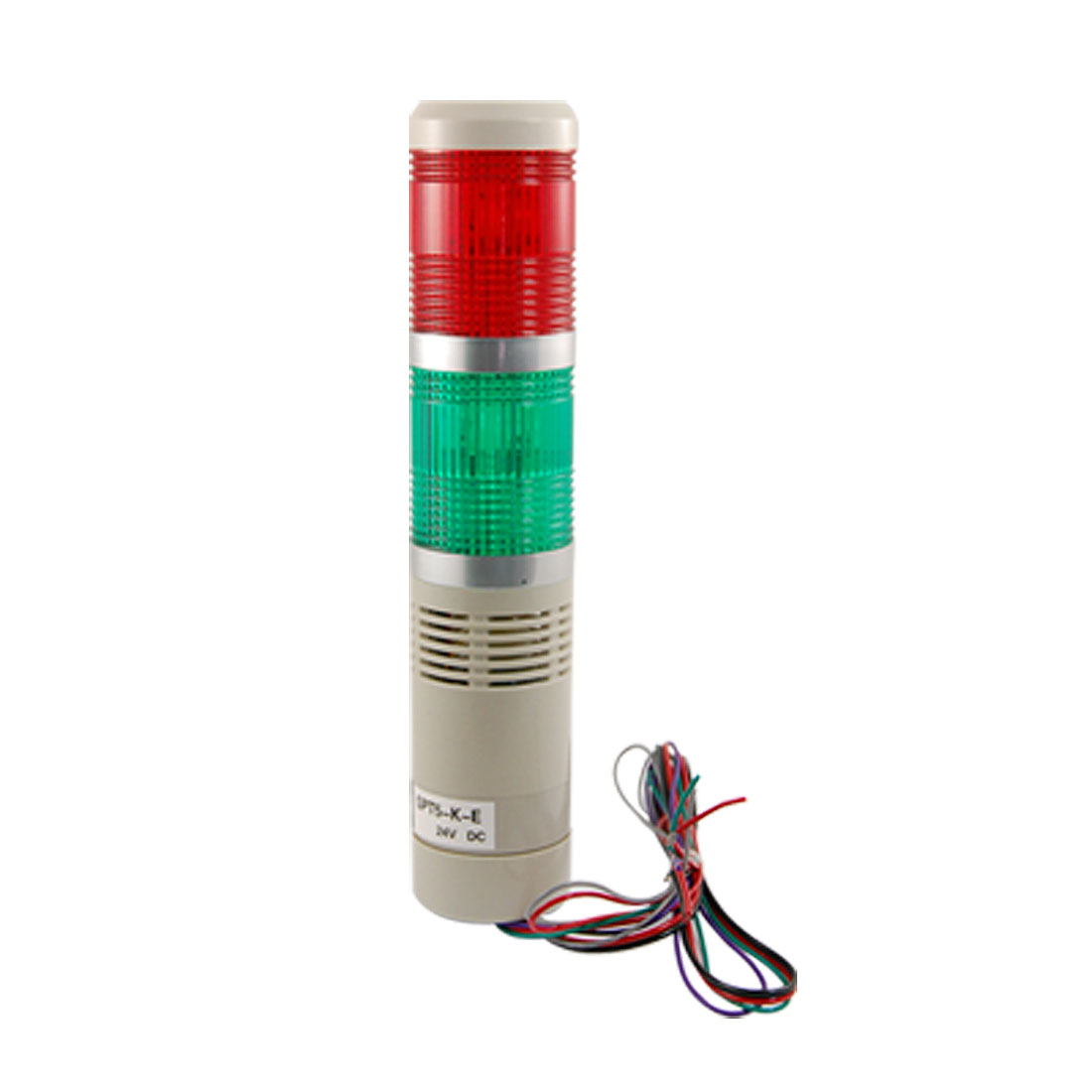 90dB DC 24V Red Green Flash LED Light Industrial Tower Signal Alarm Lamp