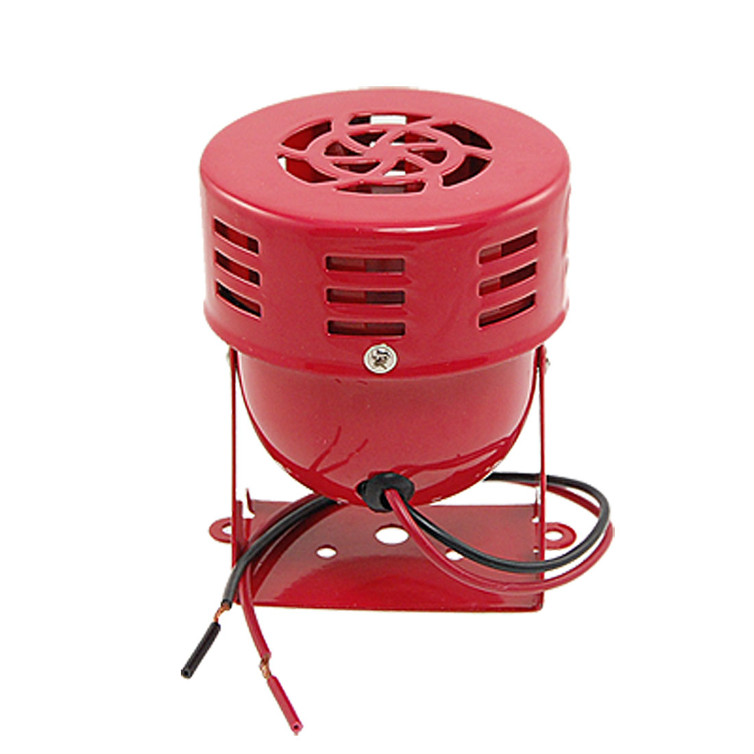 MS-190 DC 24V Metal Red Housing Security System Mini Horn Motor Siren