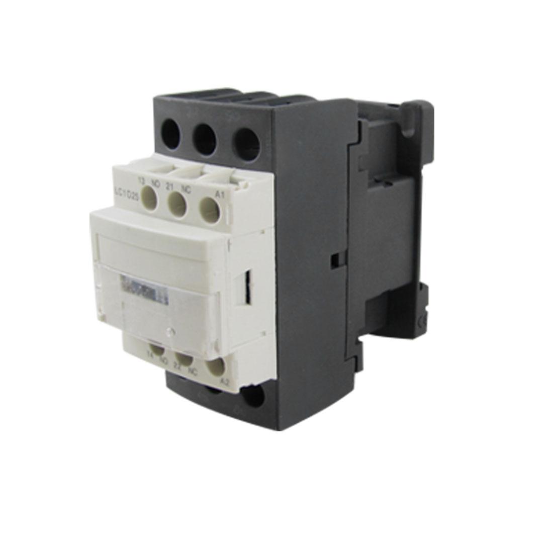 LC1D25Q7C 690V Ui 6KV Uimp NO NC 3 Poles AC Contactor 380V 50/60Hz 25A