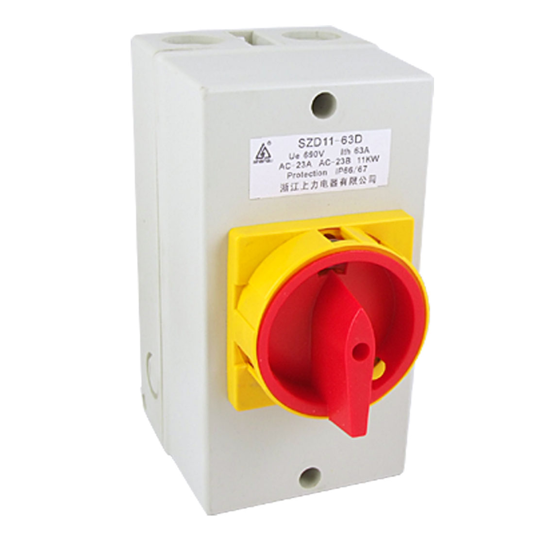 Rotary Cam Ue 690V Ith 63A On/Off Changeover Switch