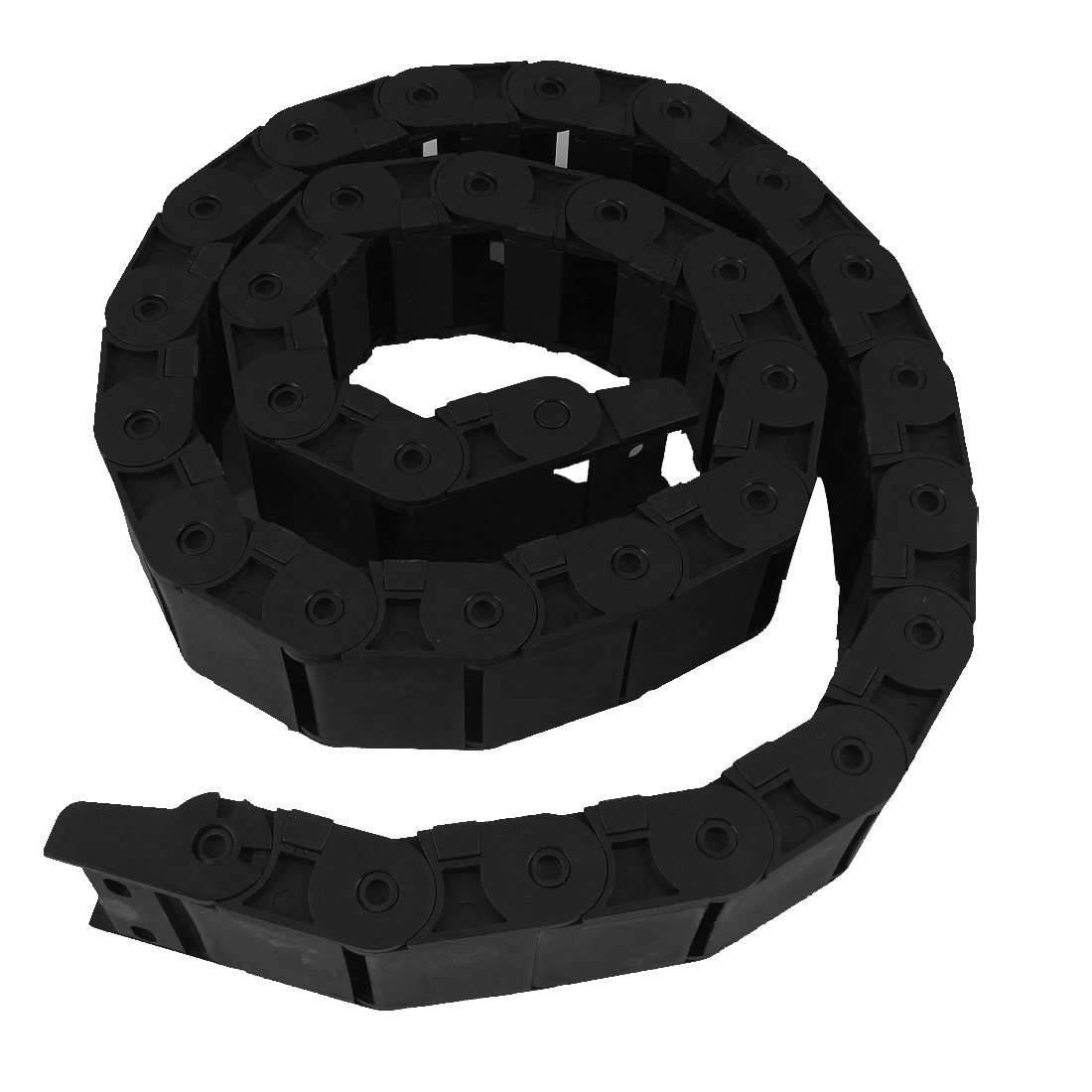 "Black 42.9"" Flexible Cable Carrier Drag Chain 18 x 37mm"