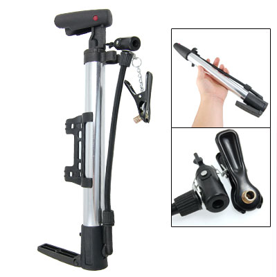 """Bike Tire Schrader Presta Valve Floor Stand Hand Air Pump 13"""""""