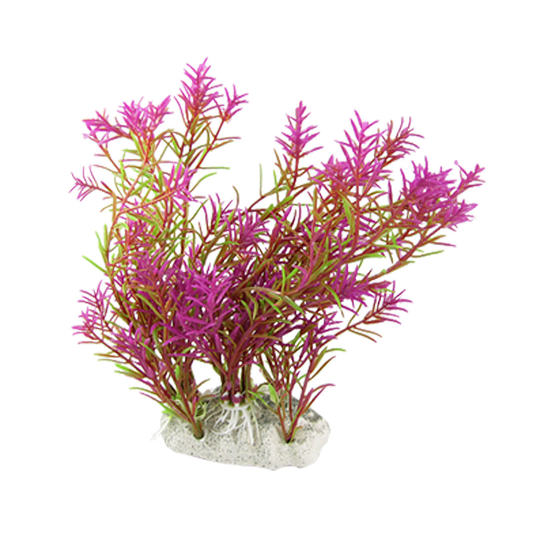 Artifical Purple Green Grass Aquascaping Plants for Aquarium