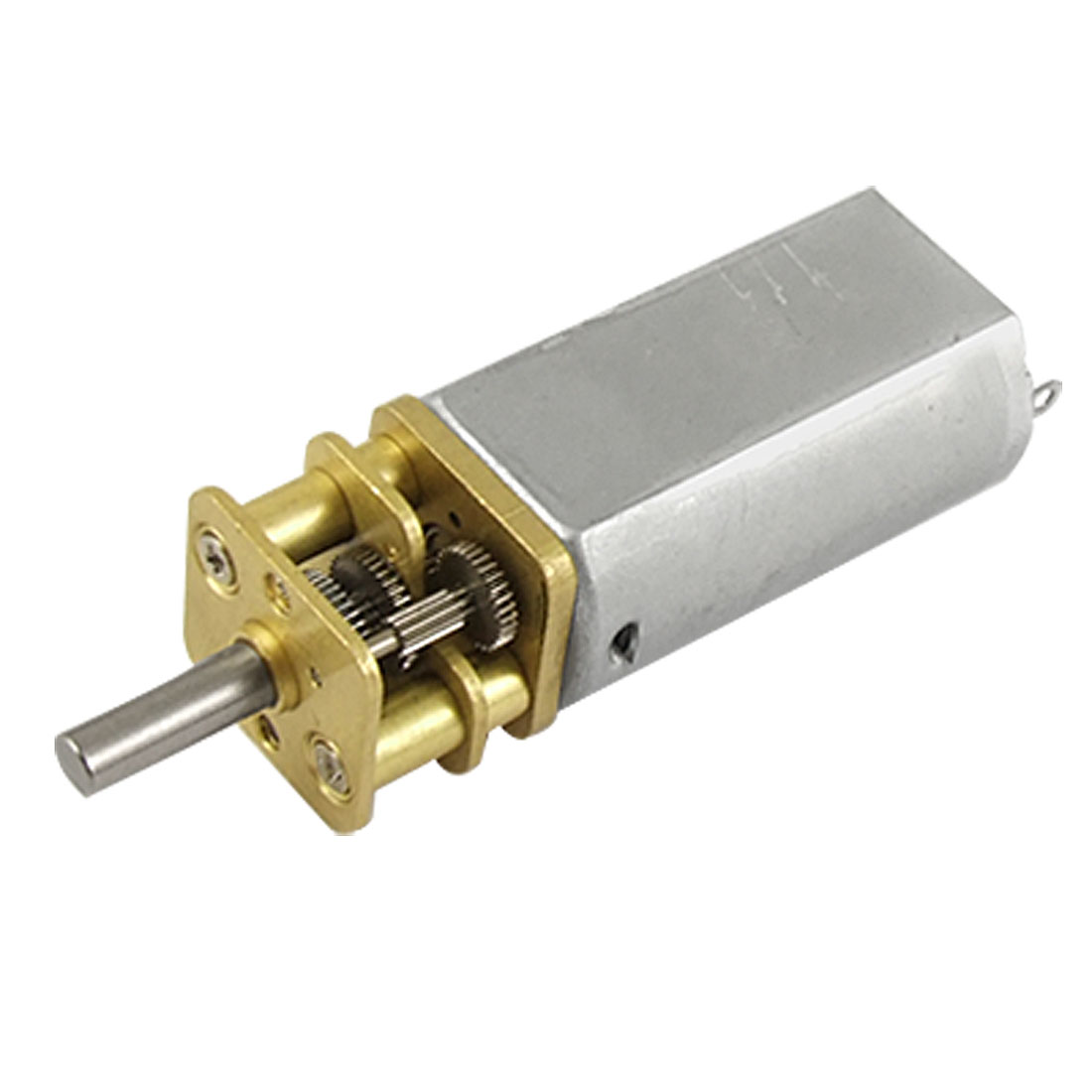 DC12V 0.08A 300RPM 6mm Shaft Speed Reducing DC Geared Motor for DIY