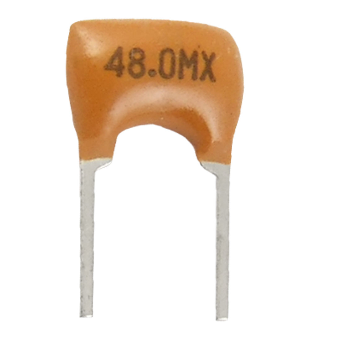 100 Pcs 48 MHz 5mm Pitch 2 Terminals FM Receiver Ceramic Filters