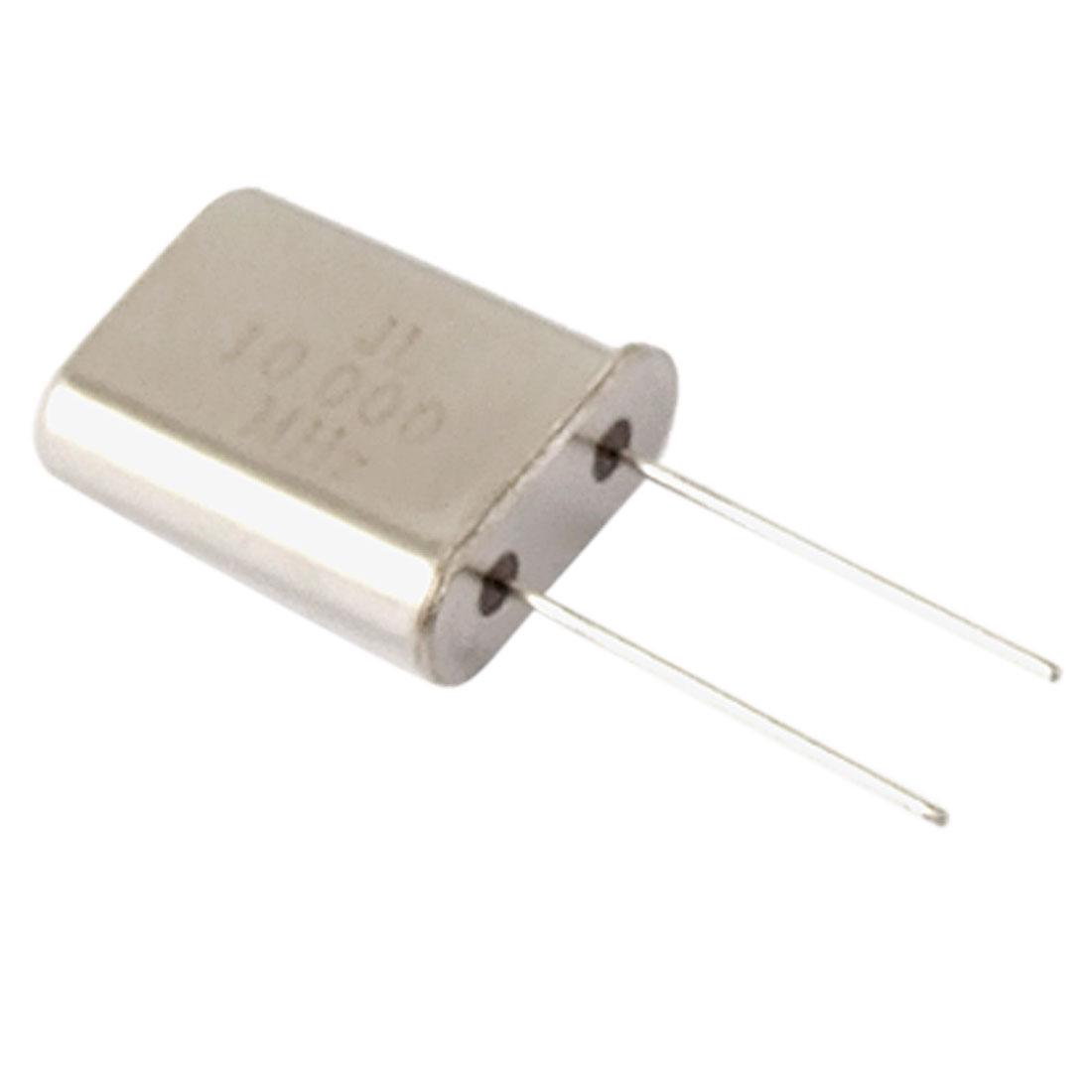 100 Pcs 10MHz 10.000MHz DIP Cyrstal Oscillators HC-49/U