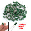 100 Pcs 560pF 100V 5% Mylar Polyester Film Capacitors