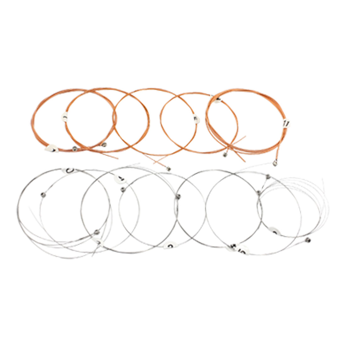Acoustic Guitar 12 Pcs Stainless Steel Copper Strings A2012