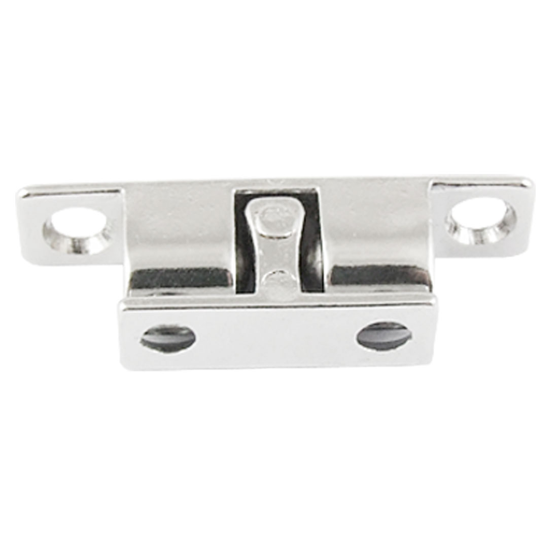 40mm Zinc Alloy Double Ball Catch Silver Tone for Cabinet Door