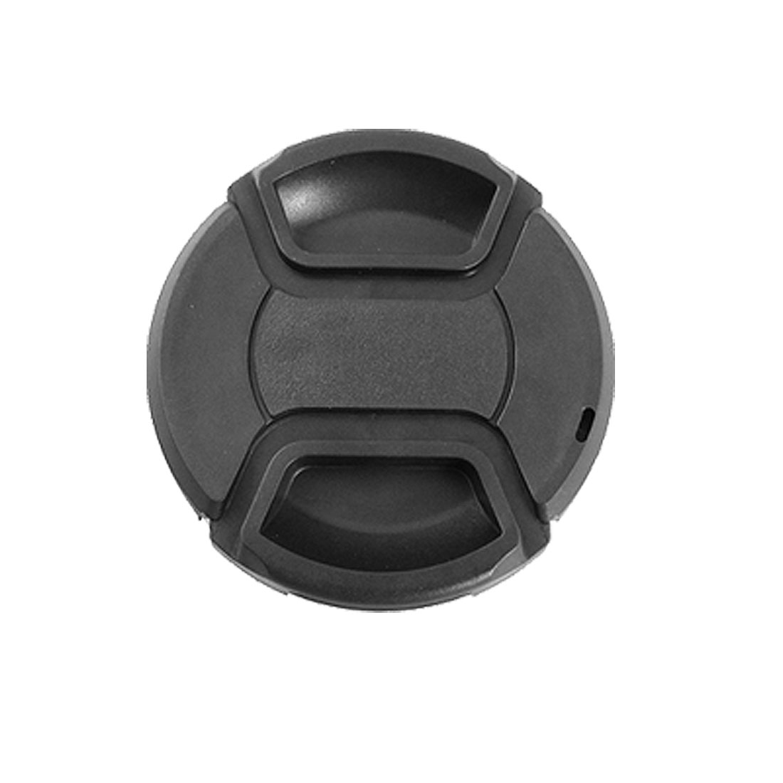 Univeral 55mm Center Pinch Snap Front Lens Cap Hood Cover