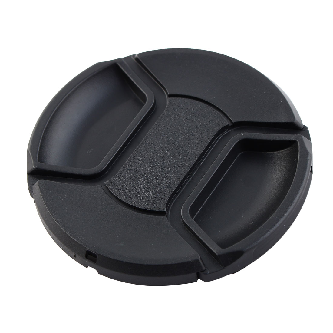 72mm Center Pinch Snap Front Lens Cap Hood Cover for Filter