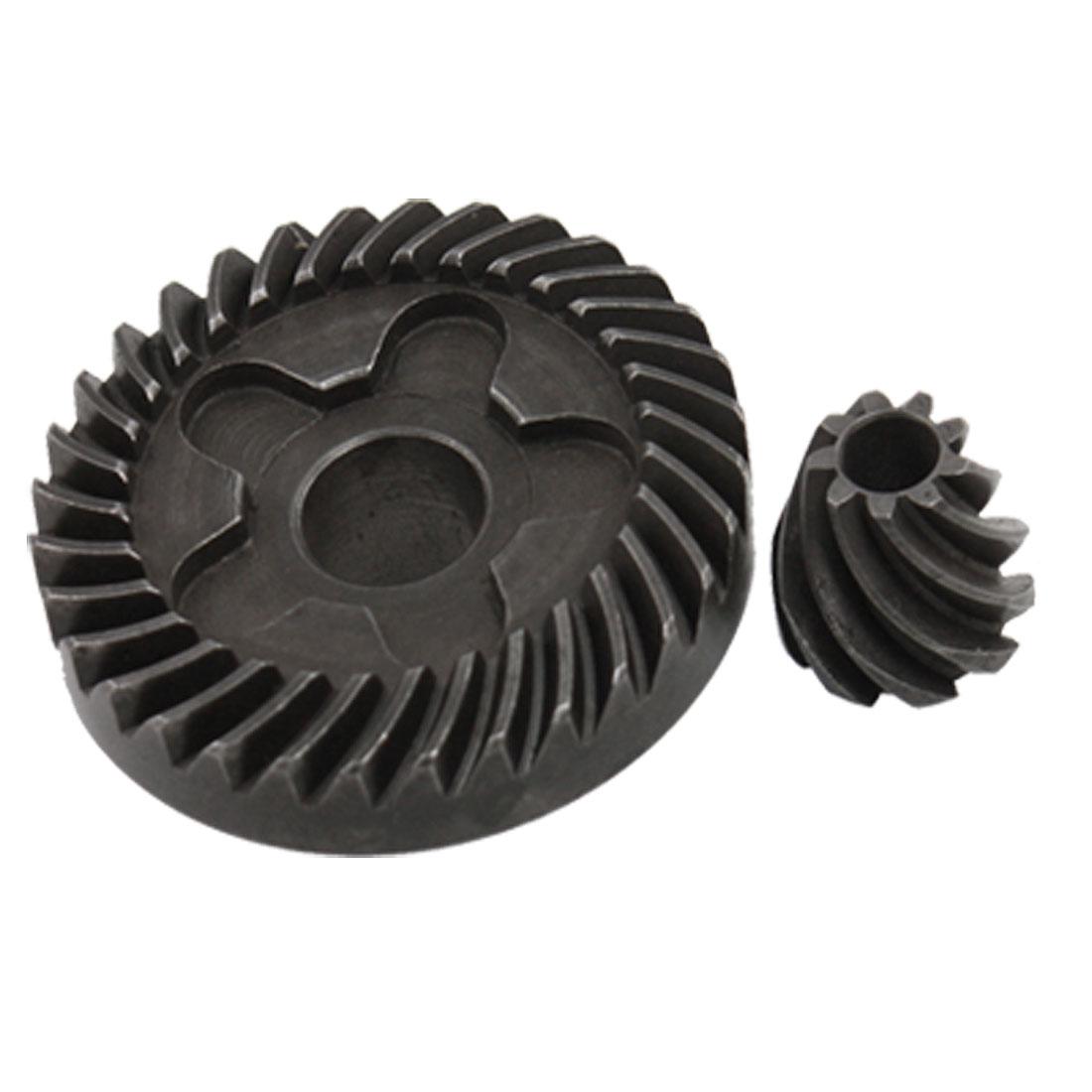 Angle Grinder Spiral Bevel Gear 2 Pcs Set for Bosch GWS 6-100