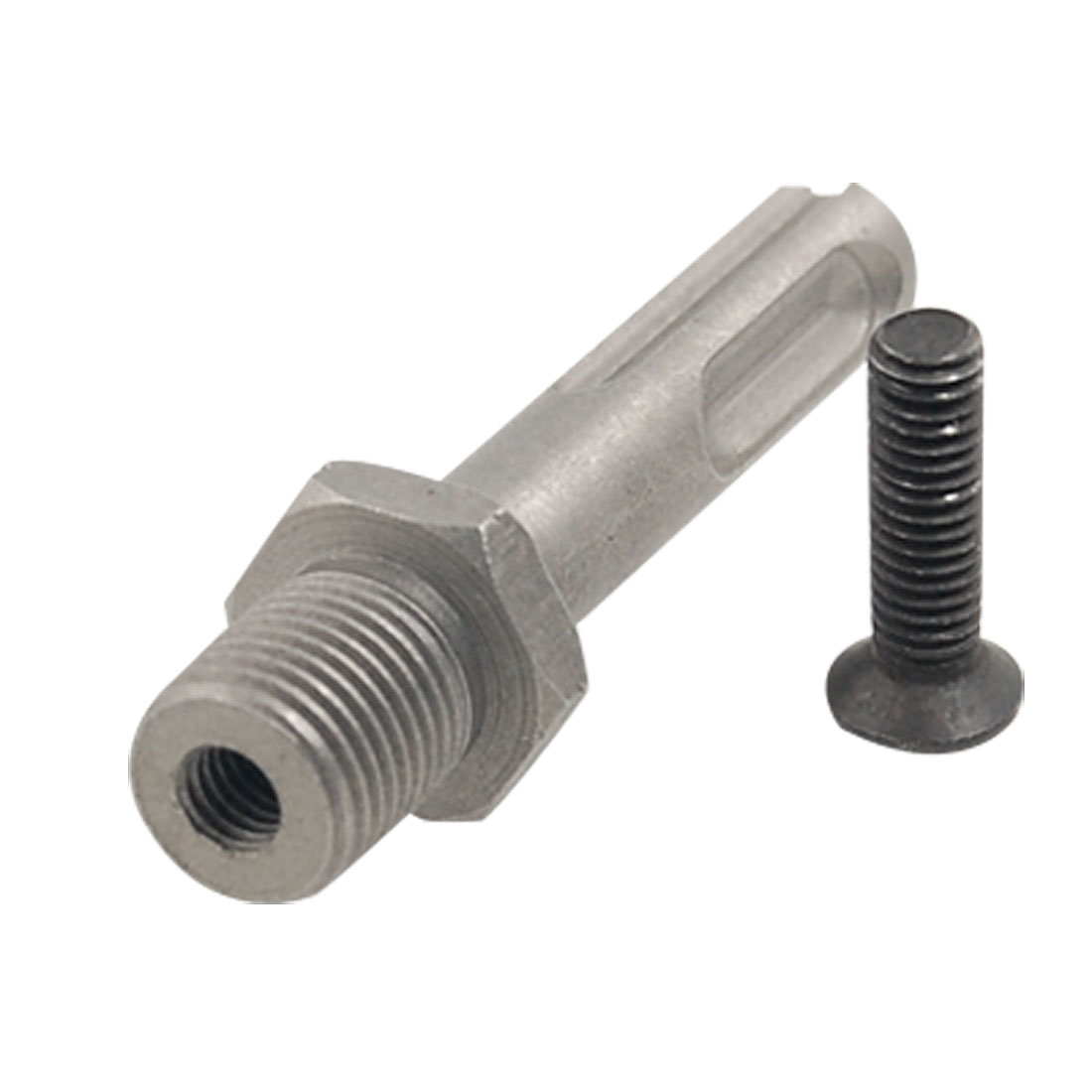 "1/2""-20 UNF Drill Chuck Adapter Connector w Locking Screw"