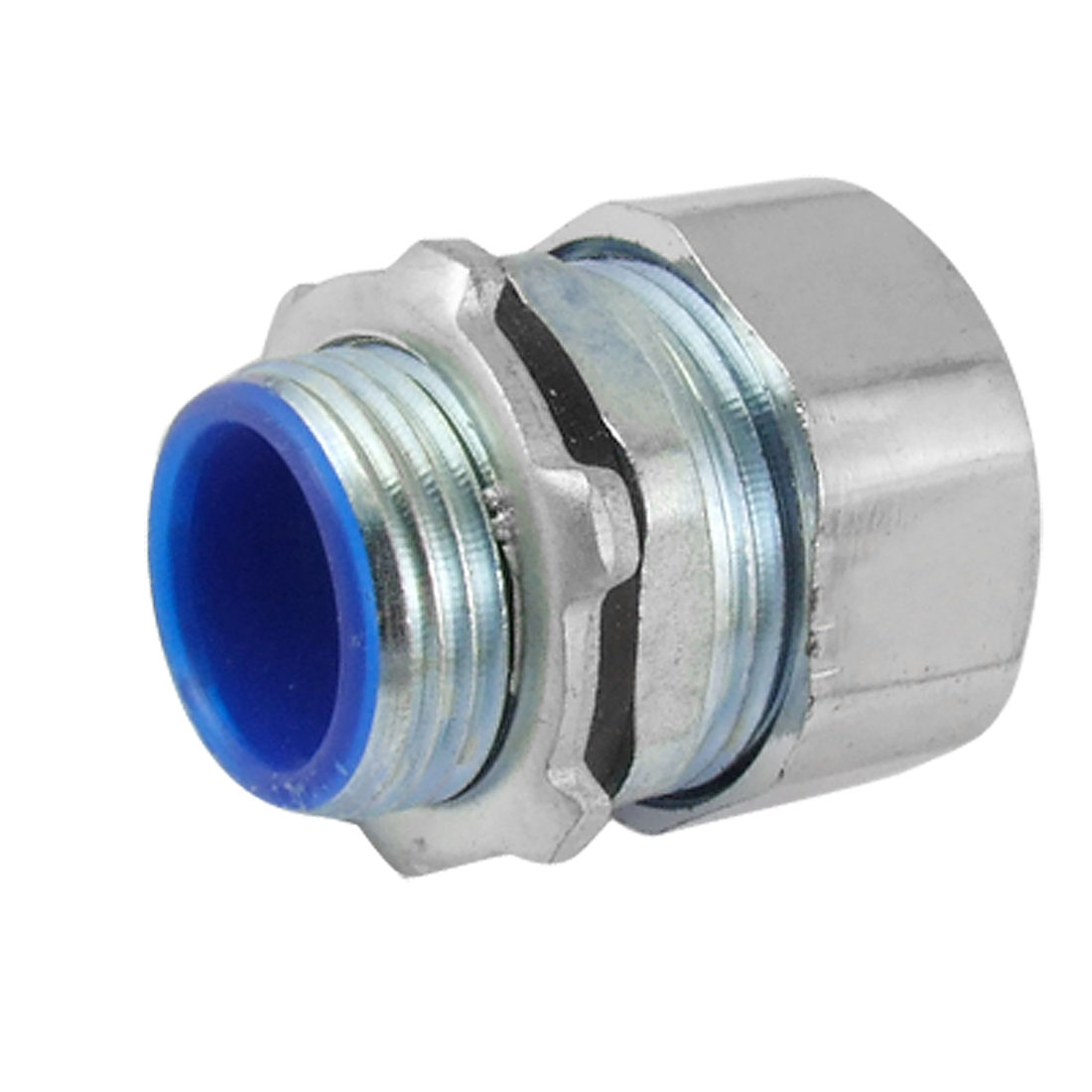 19mm Male Thread to 11mm Corrugated Conduit Quick Coupling Metal Connector