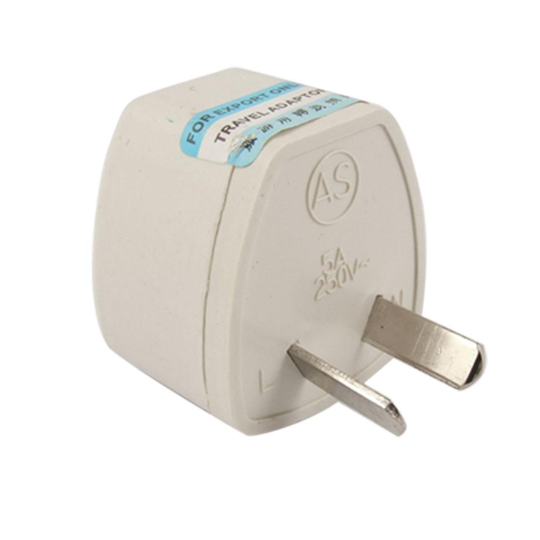 EU UK US Socket to AU 2 Pin Plug Adapter Travel Converter AC 250V 5A