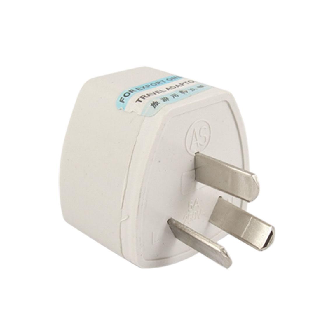 AC 250V 5A Travel AU 3 Pin Plug to EU UK US Socket Power Adapter