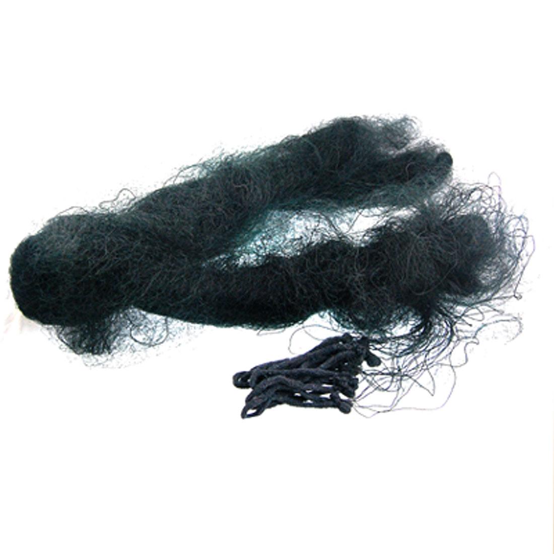 Agricultural 3.8cm x 3.8cm Diamond Mesh Bird Mist Net Mesh Black