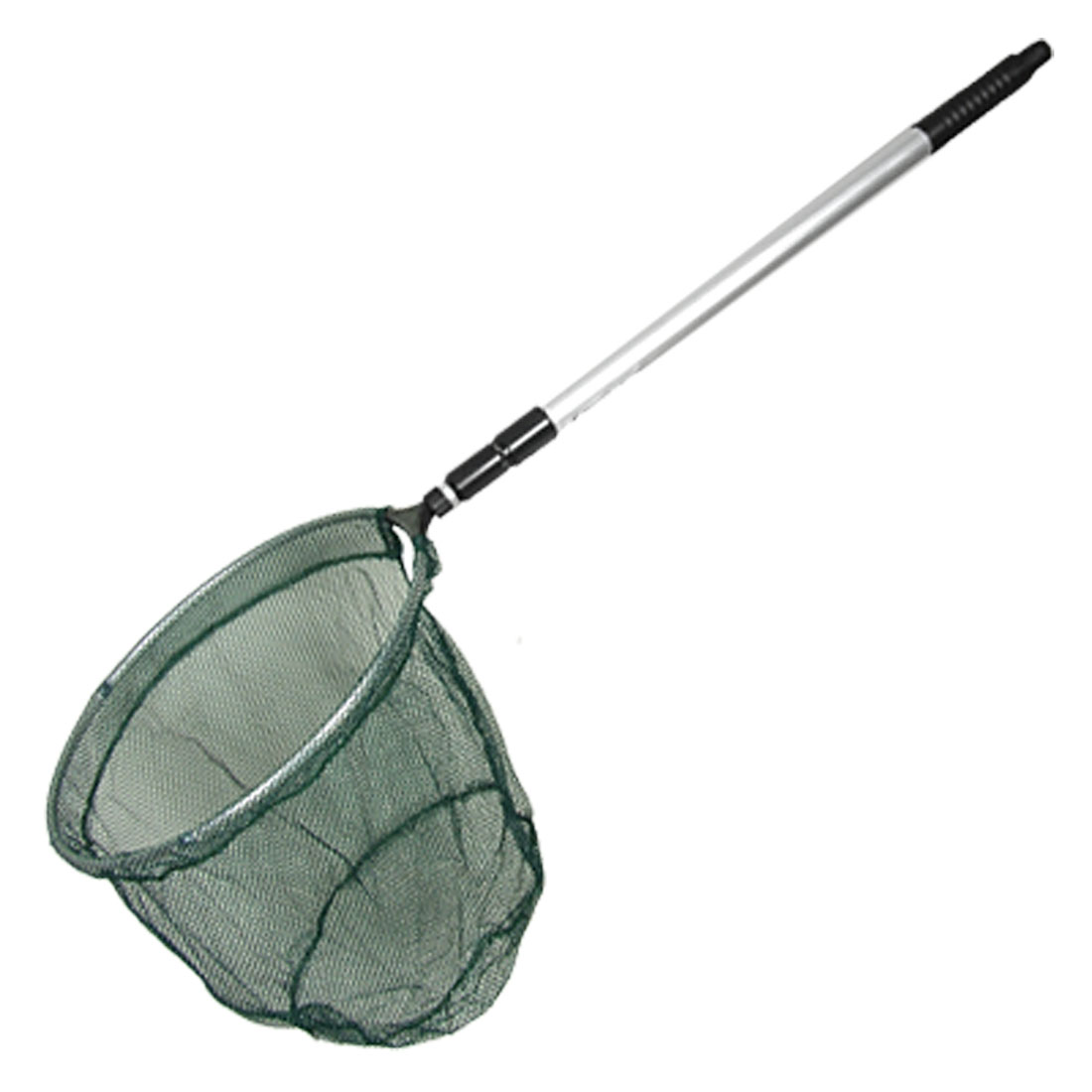 Tackle 3 Sections Handle Green Dipnet Fishing Landing Net