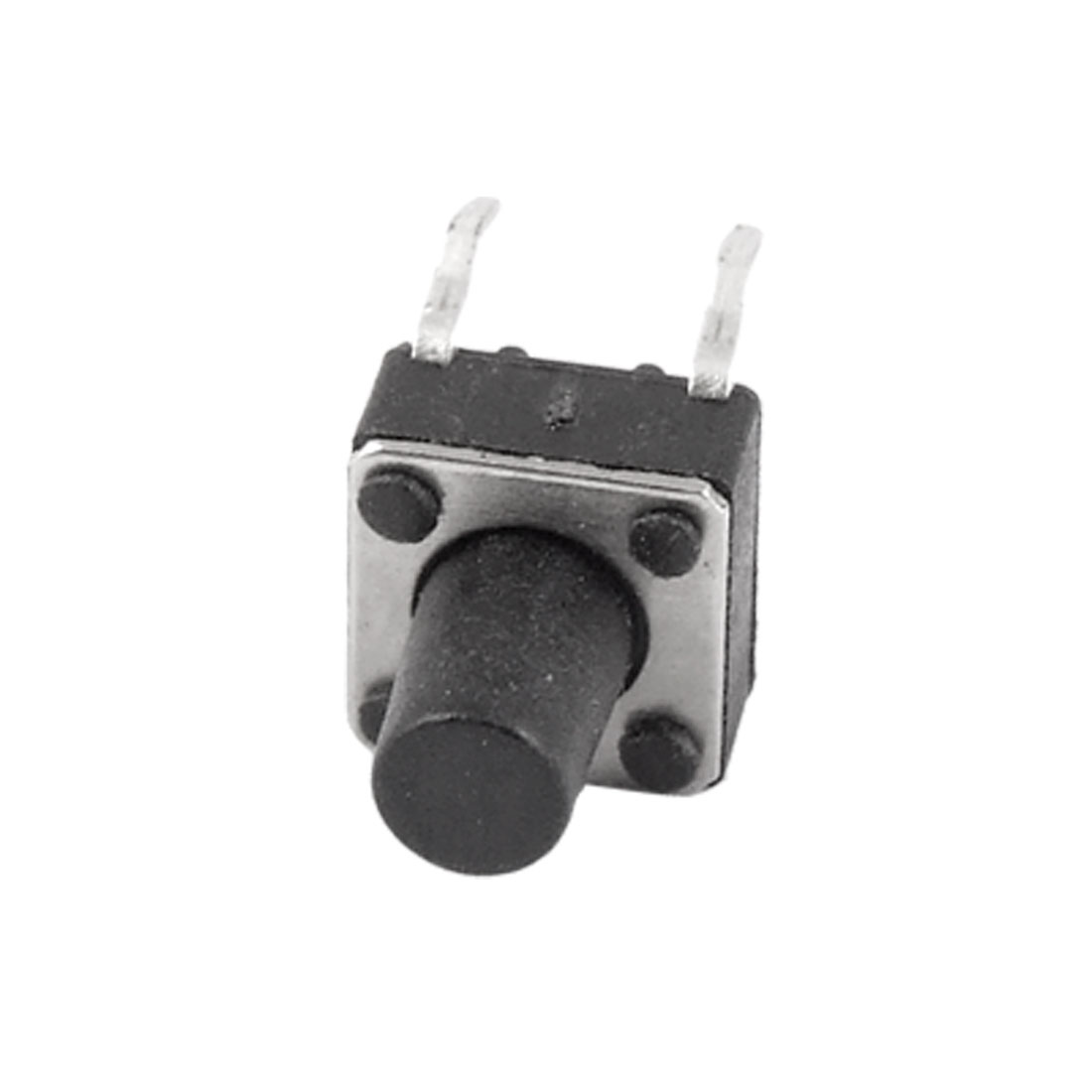 50 Pcs Electronic 4 Terminals Momentary Contact Micro Switches