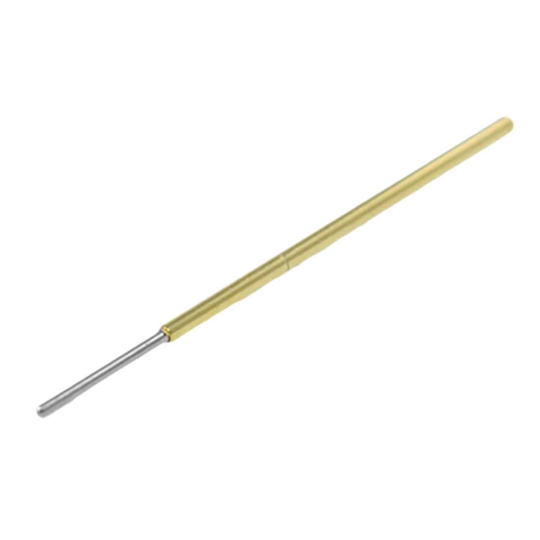 100 Pcs 0.6mm Tip Diameter Spring Testing Test Probes Pins P111-J