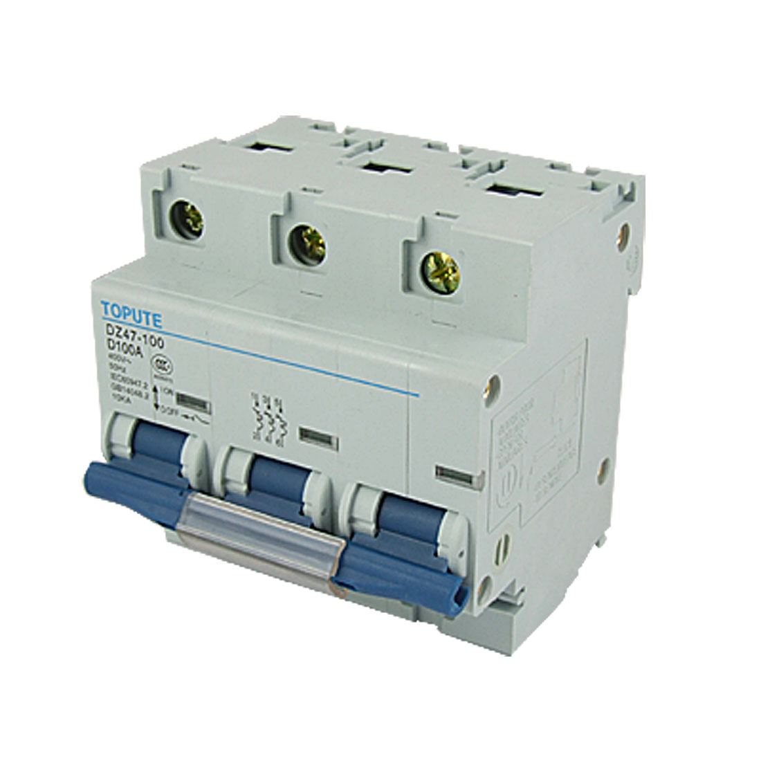 DZ47-100 D100A Three Poles MCB Mini Circuit Breaker