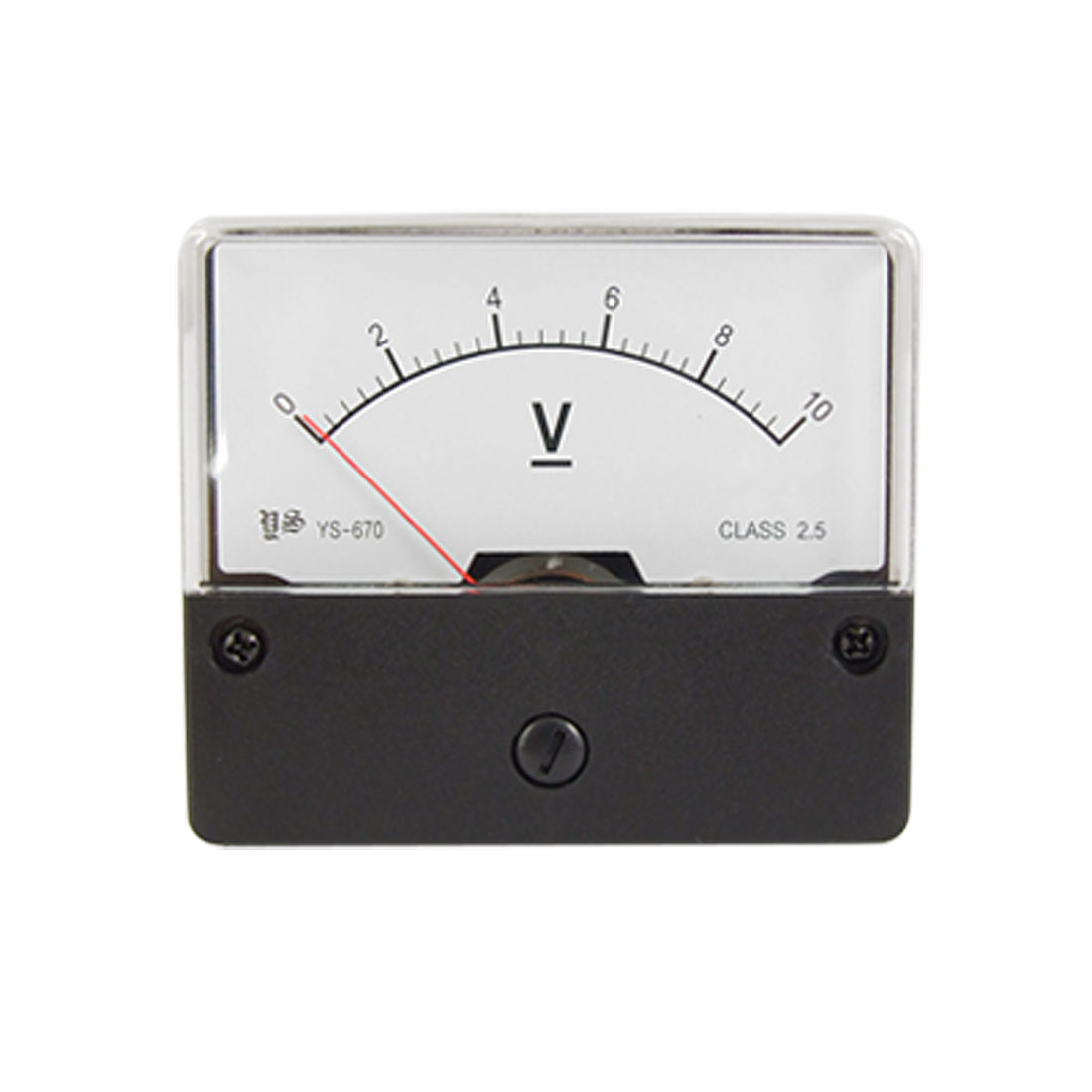 YS-670 DC 0-10V Panel Mounted Meter Analog Voltmeter Gauge
