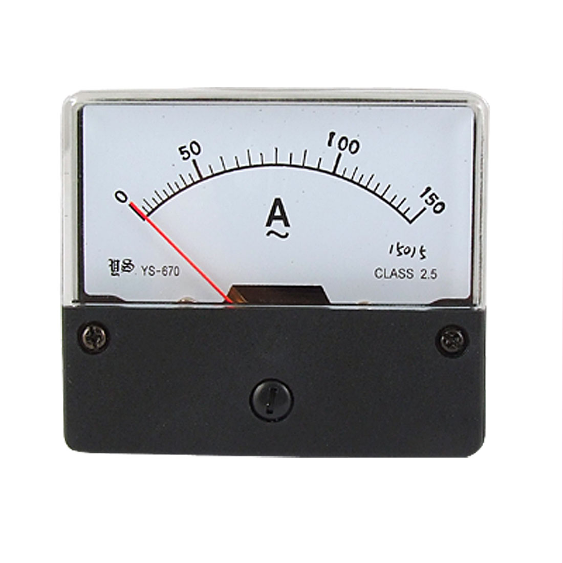 Class 2.5 Accuracy AC 150A Ammeter Analog Ampere Panel Meter