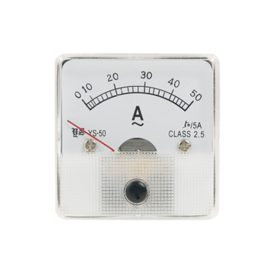50A AC Current Analog Panel Meter Measuring Tool New
