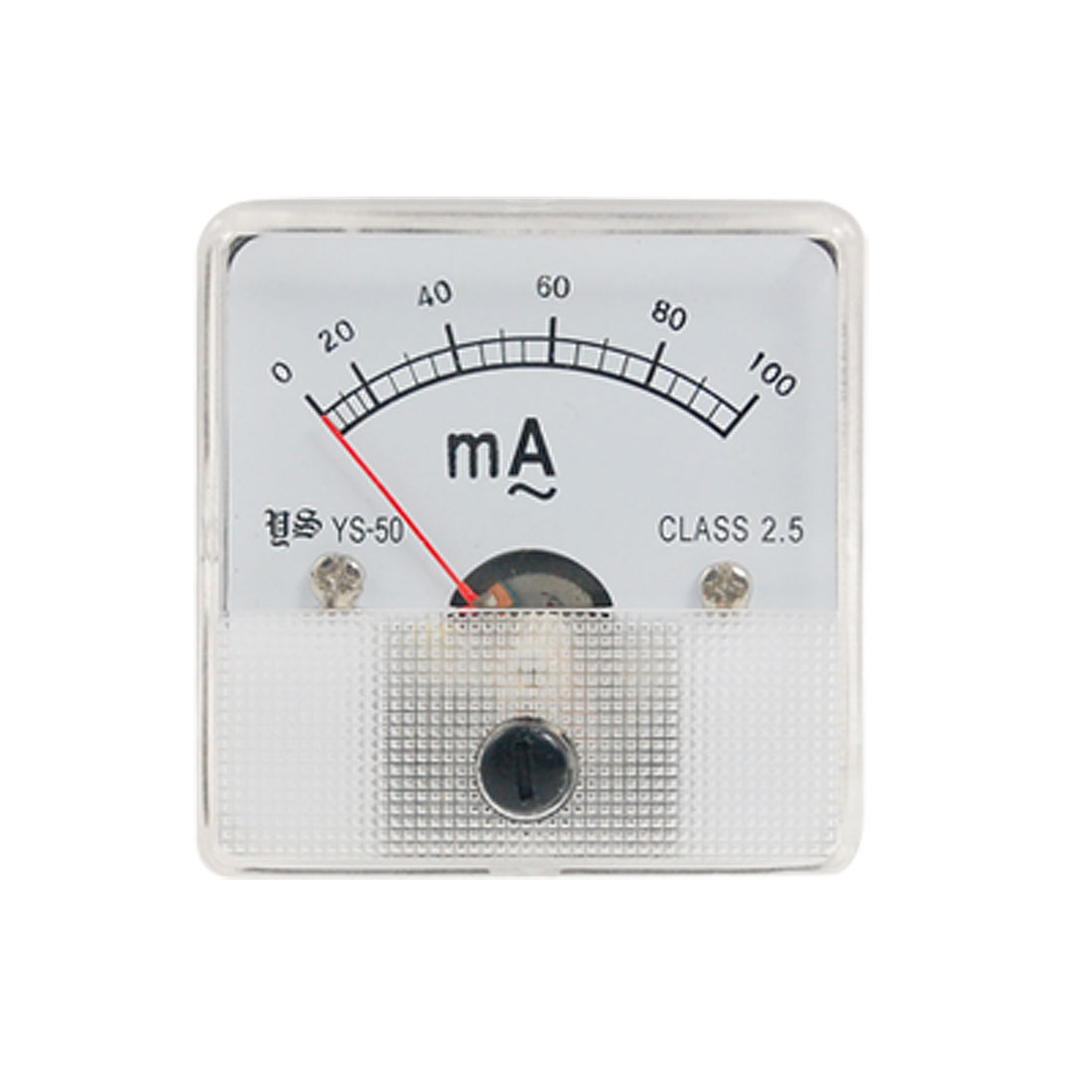 AC 0-100mA Square Panel Analog Ampere Meter Ammeter YS-50