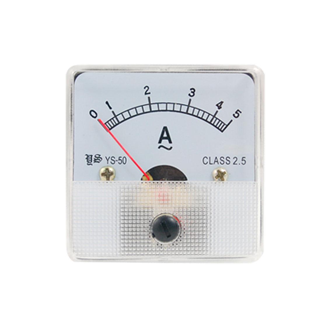 Plastic Housing AC 5A Analog Ampere Panel Meter Ammeter