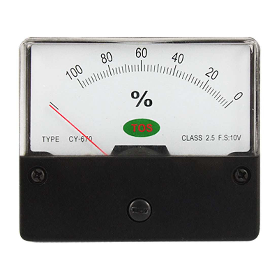 Class 2.5 Accuracy DC 10V Load 0-100 Percent Panel Meter