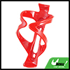 Outdoor Sports Red Plastic Bike Bicycle Water Bottle Holder Cage