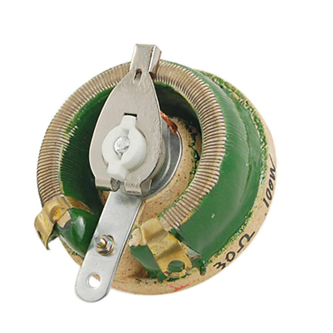 Ceramic Disk Variable Resistor Rheostat 100W Watt 30 Ohm