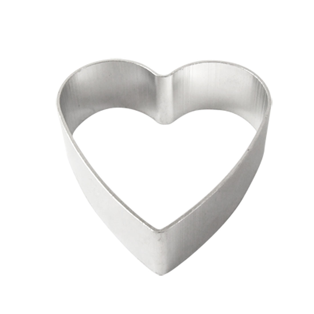 Christmas Aluminum Alloy Heart Design Cookie Cutter Cake Mold