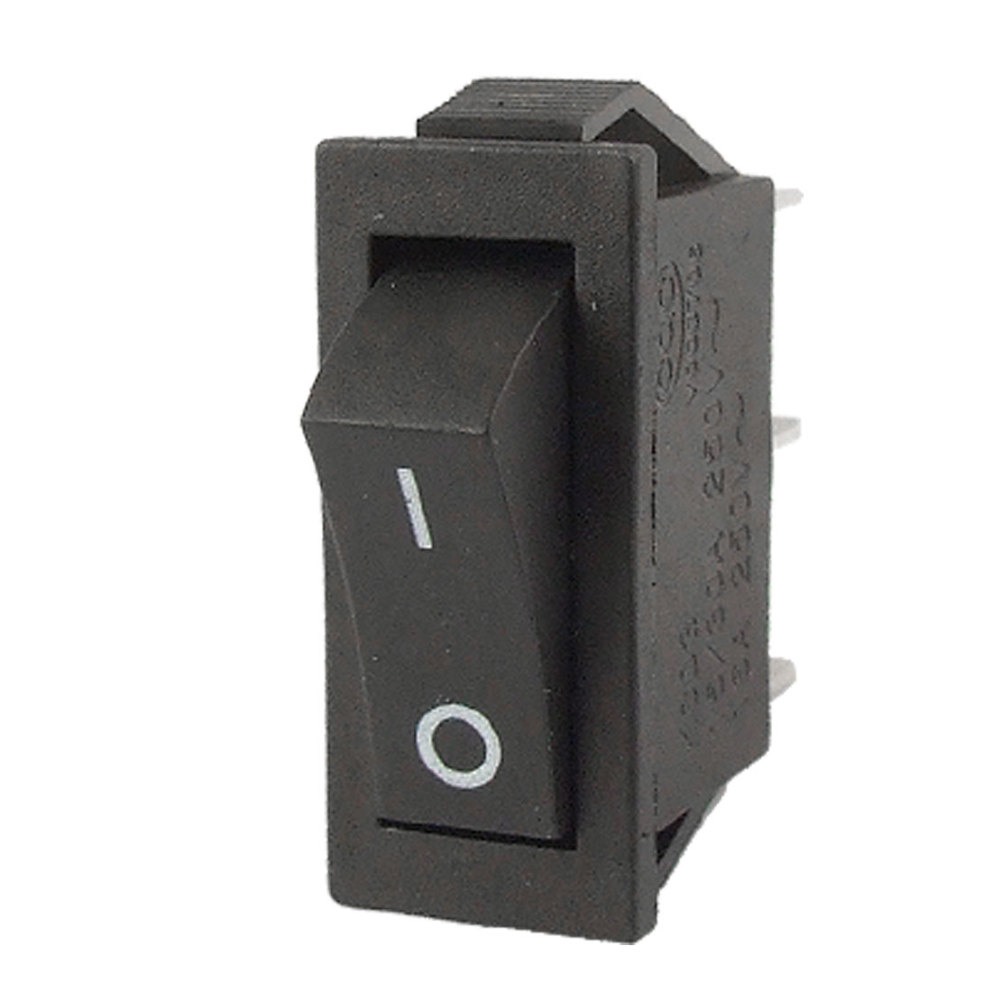 AC 250V 16A 3 Pin ON-ON I/O 2 Position SPDT Snap in Boat Rocker Switch Black