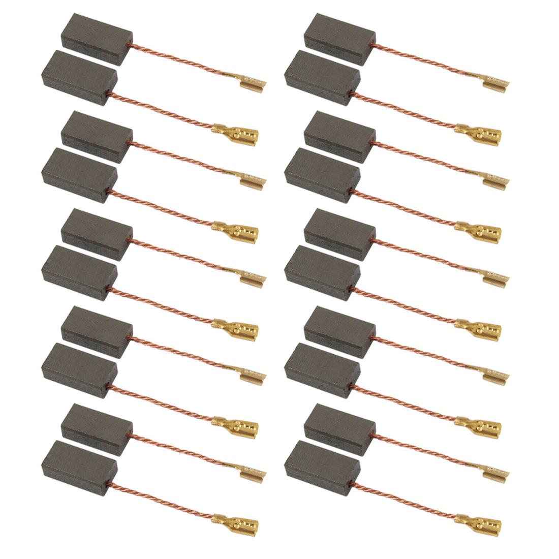 10 Pairs 5 x 8 x 15mm Planer Motor Carbon Brushes for Bosch