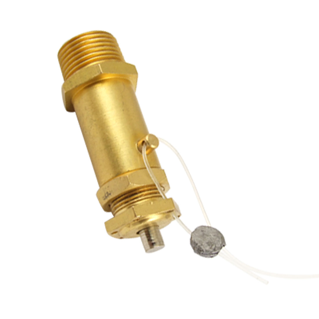 "5/8"" Male Thread Gold Tone Pressure Relief Valve"