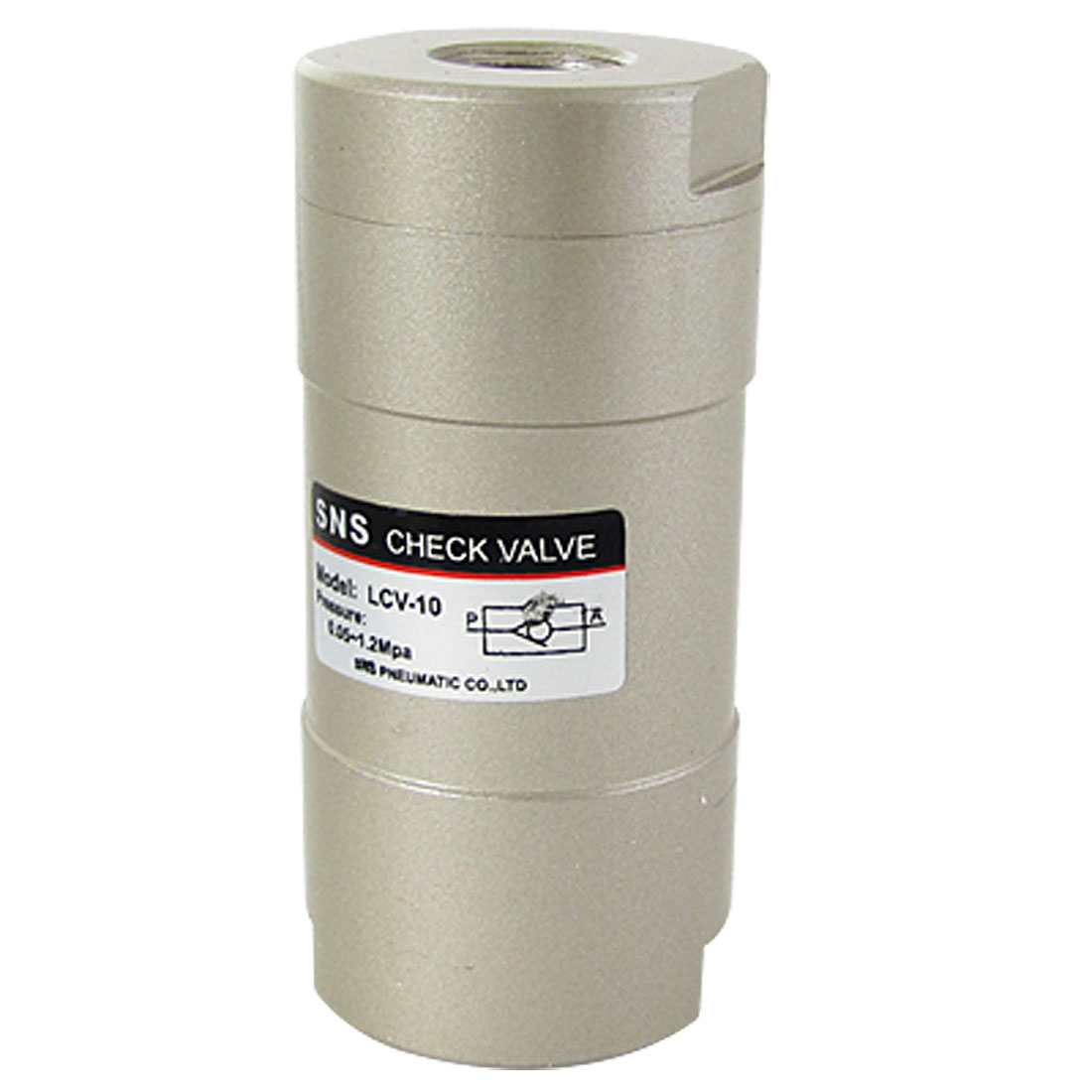 "LCV-10 3/8"" Port 19/32"" Thread Pneumatic Non Return Check Valve"
