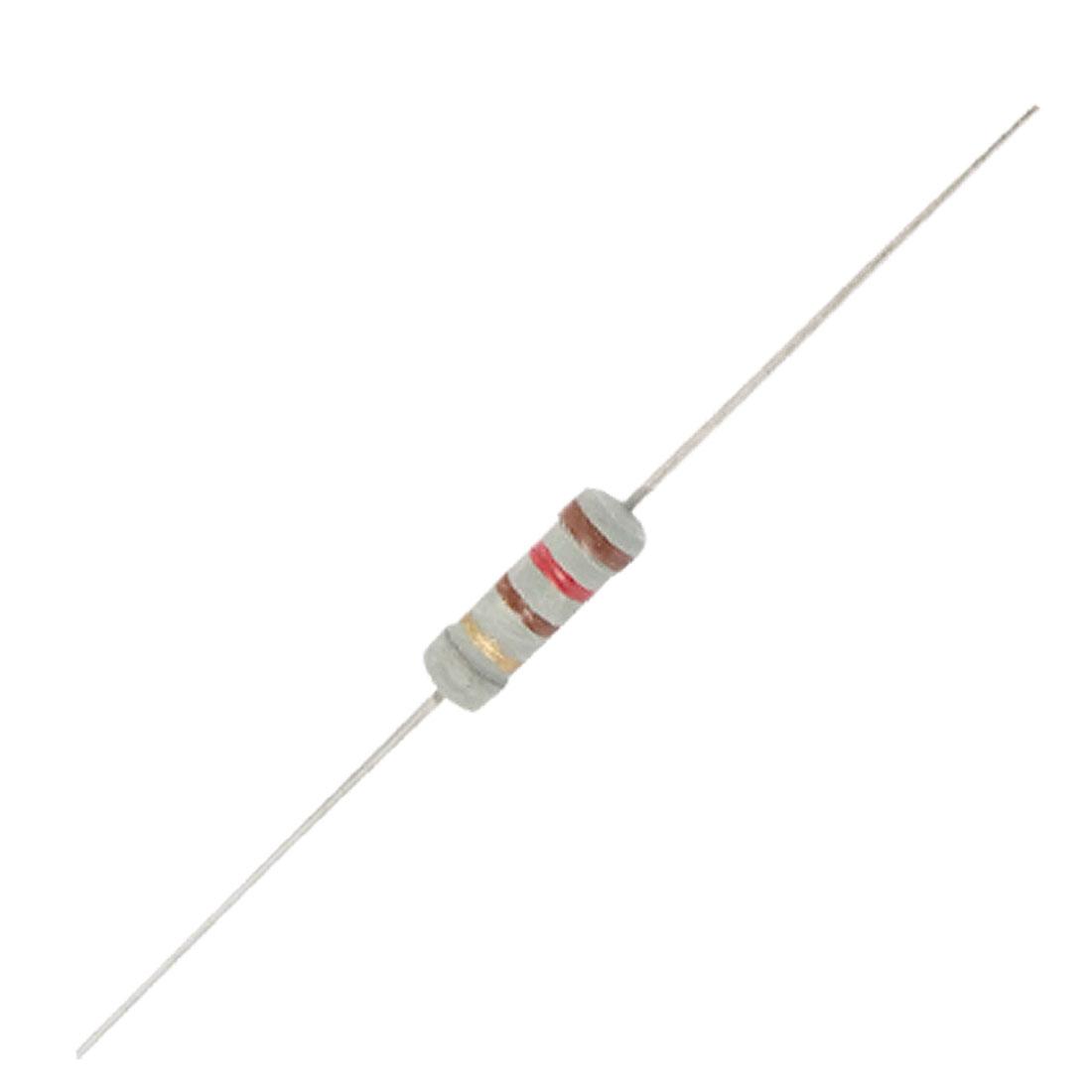 120 ohm 1W Through Hole Carbon Film Resistors 500 Pcs