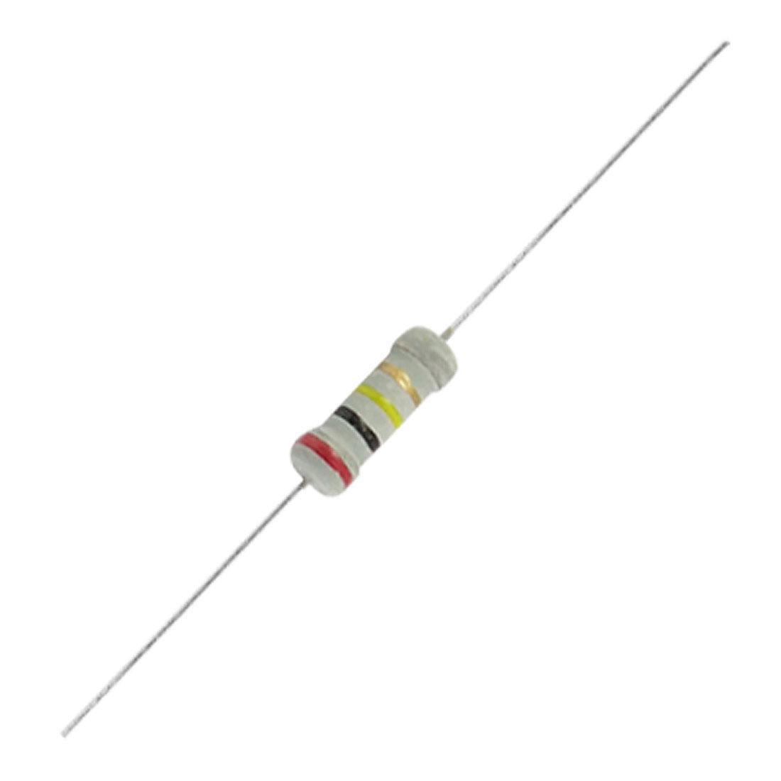200K Ohms OHM 1W 5% Axial Carbon Film Resistors 500 Pcs