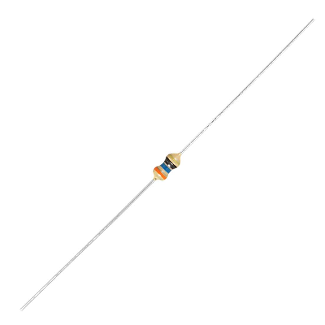 1000 Pcs 1/6W Watt 36 ohm 5% Axial Carbon Film Resistors