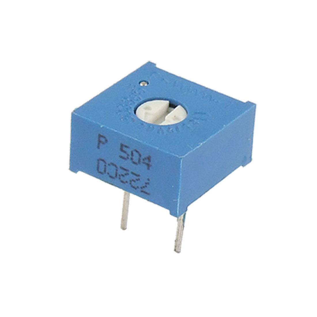 500K Ohm 500V Trimmer Cermet Variable Resistor Potentiometers 50 Pcs
