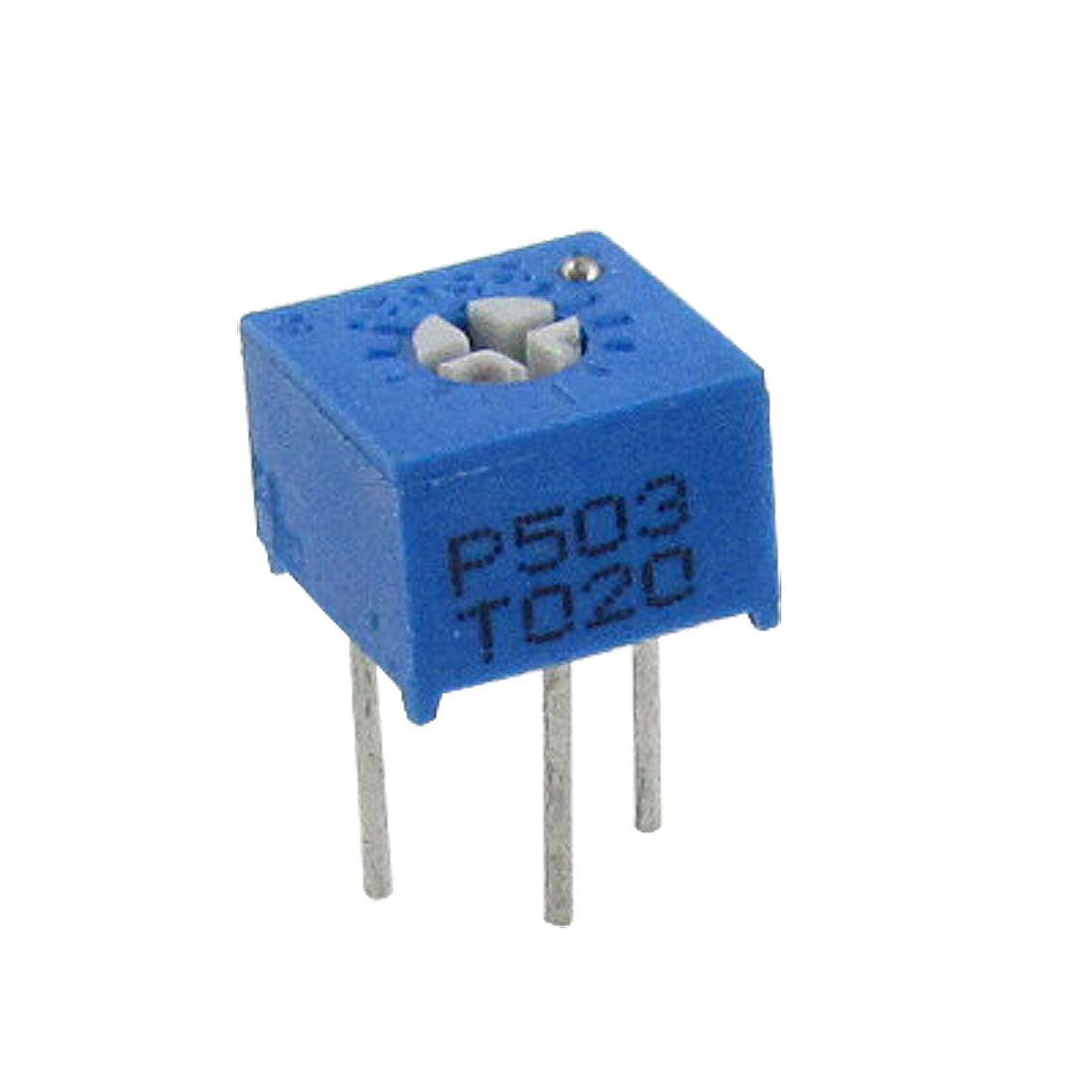 "50x 3362P 503 50K Ohm 1/4"" Square Cermet Potentiometer Trimmer Pot"